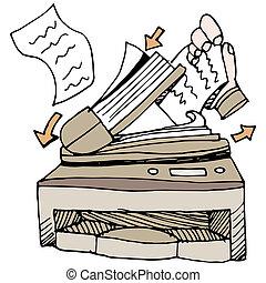 documento, scanner