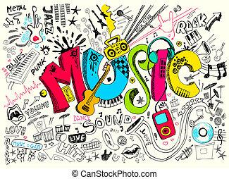 doodle, música