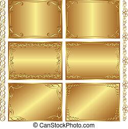 dourado, fundos