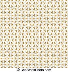 dourado, retro, padrão