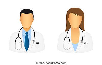 doutor, ícones