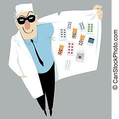 doutor, negociante