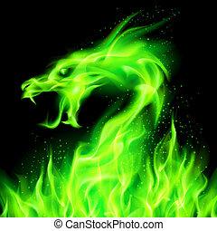 dragon., fogo
