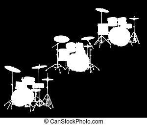 drum-type, instalação
