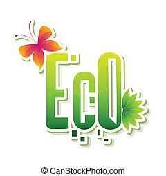eco, adesivo
