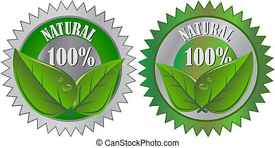 eco, produto, natural, etiqueta
