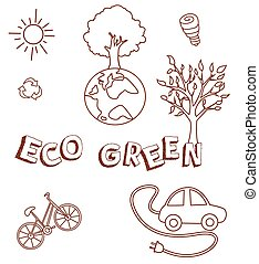 eco, verde