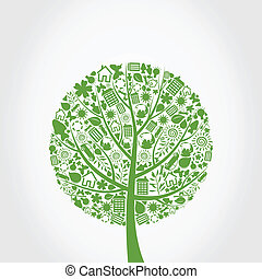 ecologia, árvore