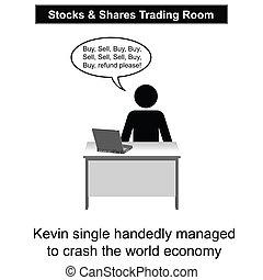 econômico, choque