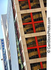 edifícios escritório, modernos