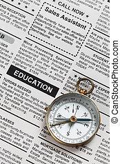 educação, anúncio