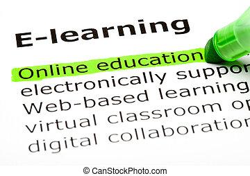 educação, online