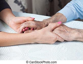 elderly., cautela casa