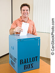 eleição, macho, -, branca, eleitor