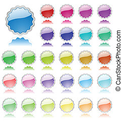 elementos, colorido, cobrança