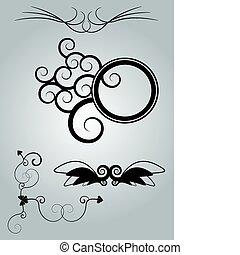 elementos, desenho