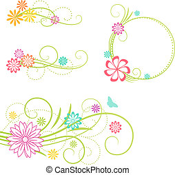 elements., projeto floral