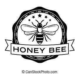 emblema, abelha