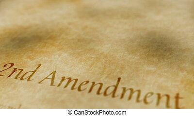 emenda, histórico, documento, 2º