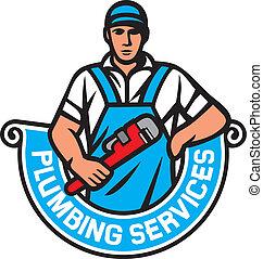 encanamento, serviços