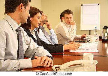 encontrar pessoas, informal, negócio