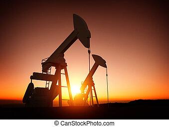 energia, indústria óleo