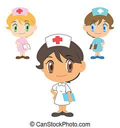 enfermeira, personagem
