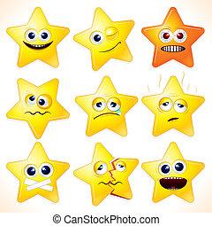 engraçado, estrelas