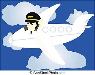 engraçado, piloto