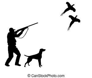 .eps, caçador