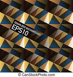 eps10, abstratos, seamless, geométrico, experiência., vetorial, triângulos