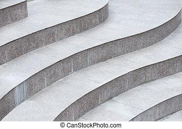 escadas, abstratos