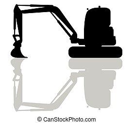 escavador, ícone