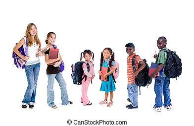 escola, diversidade