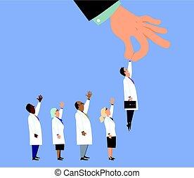 escolhido, doutor
