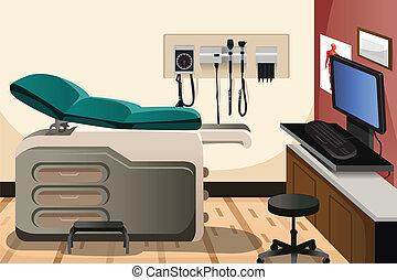 escritório, doutor