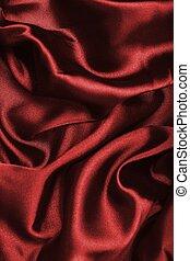 escuro, têxtil, liso, experiência vermelha