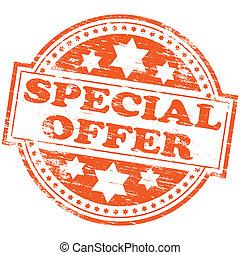 especiais, selo, oferta