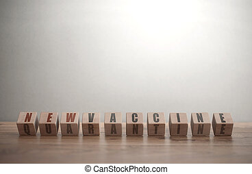 esperança, novo, vacina, saída, avanço, conceito, quarentena