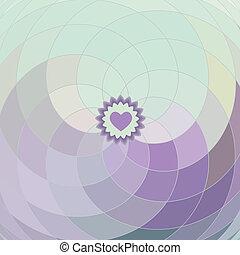 espiral, lilás, vetorial, fundo