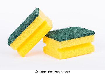 esponja, limpeza