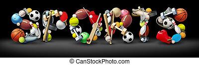 esportes, texto