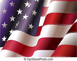 estados, unidas, –, cartaz, desenhistas, independência, 4th, dia, america., julho, gráfico