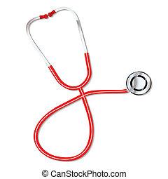 estetoscópio, doutores