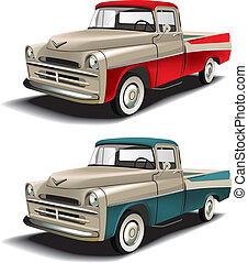 estilos, 50s, pickup