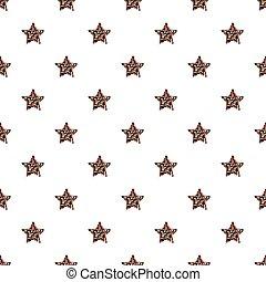 estrela, coloridos, padrão, seamless, fundo, brilhar
