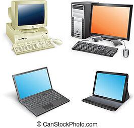 evolução, computador