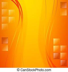 experiência., 10., morno, positivo, colors.vector, ????????, ilustração, .eps, fundo, dourado