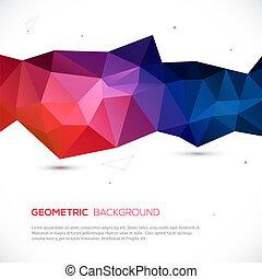 experiência., abstratos, geomã©´ricas, coloridos, 3d