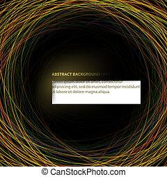 experiência., abstratos, vetorial, (eps10)